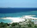 海洋博公園(エメラルドビーチ遠景)
