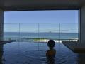 もとぶ温泉「美ら海の湯」 半露天風呂