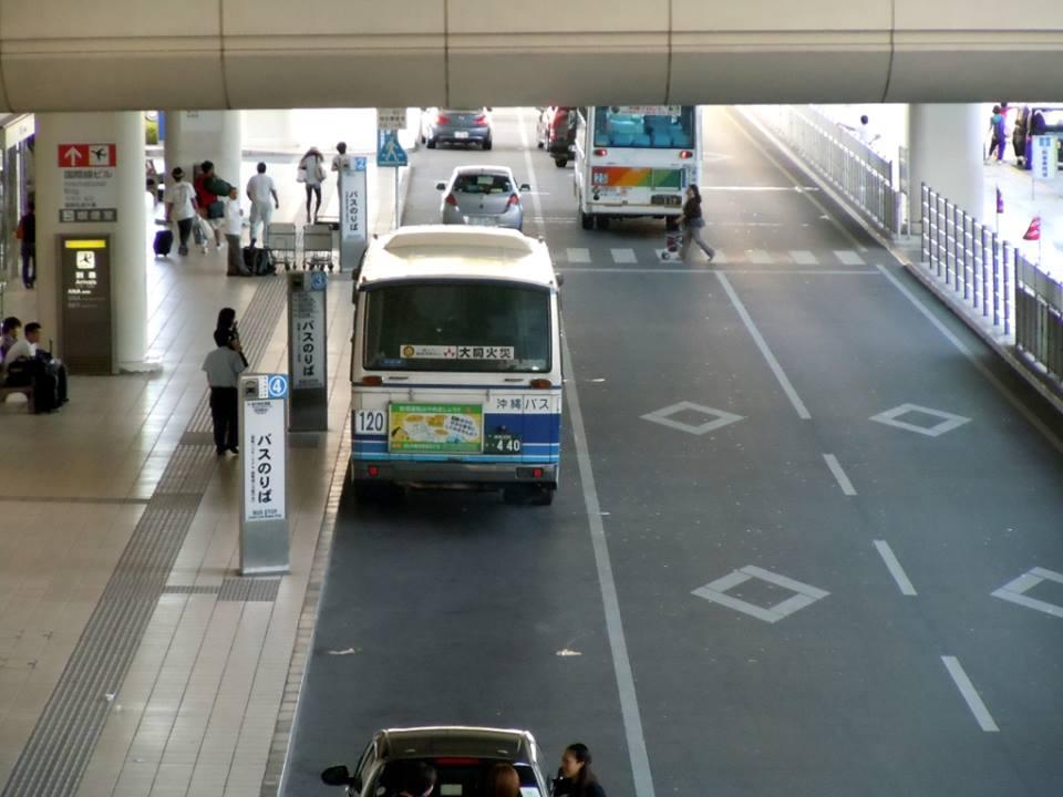 那覇空港バス停イメージ