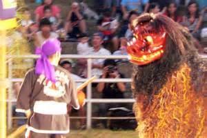 沖縄獅子舞イメージ
