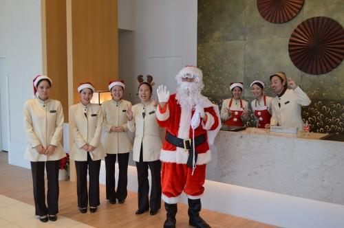 ホテルフロント-クリスマス