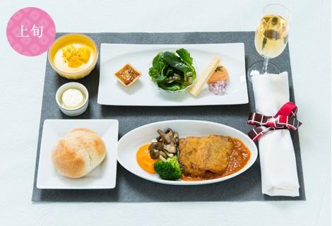 JAL機内食イメージ